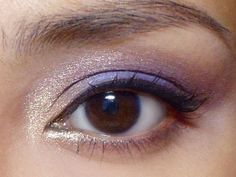 Champagne and Grapes!  #makeup #tutorial #beauty #eyeshadow #purple http://makeupbox.tumblr.com/post/27877862660/champagne-and-grapes-gold-purple-and-plum