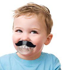 Tétine pour Nourrissons Moustache de Barbier