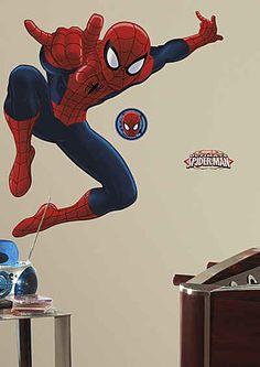 JOY TOY Wandsticker, »Spiderman Riesen-Wandtattoo«