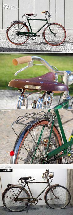 LisanCyles renovations . Take a peek at all the details | HappyBike.eu Bicycle Store, Biking, Automobile, Iron, Tattoo, Vintage, Self, Bicycles, Bike Store