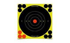 Birchwood Casey Shoot-N-C Target, Round Bullseye, 6 inch, 60 Targets