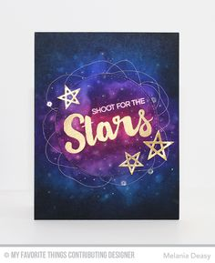 Melania Deasy: My favourite things new release countdown - shoot for the stars card