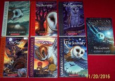 Guardians of Ga'Hoole Starter Series #1-7 Kathryn Lasky Chapter Books Ages 7-12
