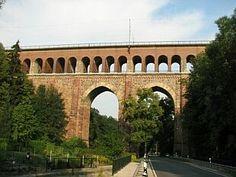 Heiligenborner Viadukt in Waldheim, 210 m lang und 41 m hoch