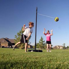 Lifetime Portable Tetherball System with Extra Soft Tetherball - Bring the excitement of the school playground to your backyard with the professional Lifetime Portable Tetherball System with Extra Soft Tetherball ....