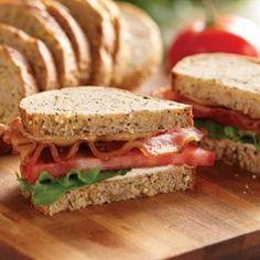 Peanut Butter BLT Sandwich