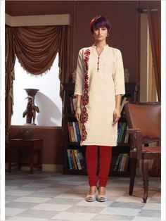 Beige Formal Art Silk Suit
