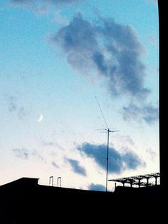 Lonely moon..