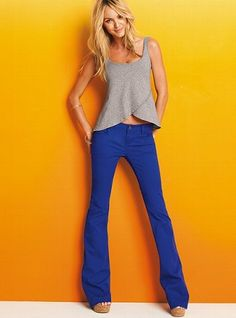 Spring 2012 Colored Dress Pants Trend