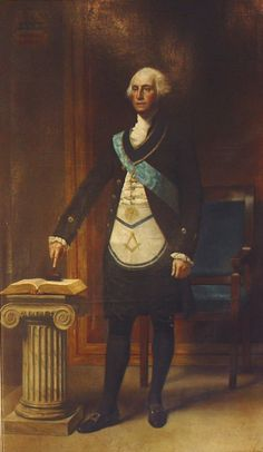 American freemason George Washington..it goes deeper futher than you know. So Mote it Be, the Eternal rabbit hole.