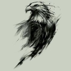 Top Tattoo Style Ideas Eagle Tattoo for Men and Women from Traditional Black and Grey Designs to Colorful Image Wolf Tattoos, Tribal Tattoos, Eagle Tattoos, Trendy Tattoos, Black Eagle Tattoo, Tribal Eagle Tattoo, Tattoo Black, Tatoos, Celtic Tattoos