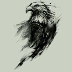 Hawk version instead of bald eagle