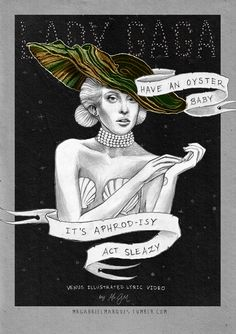 LADY GAGA VENUS ILLUSTRATED LYRIC VIDEO on Behance