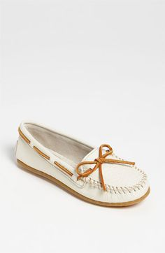 Minnetonka Boat Moccasin available at #Nordstrom