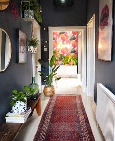 Inspiration And Ideas On How To Decorate Your Narrow Hallways This
