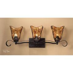 Uttermost Vetraio 3 Light Bronze Vanity Strip 22801