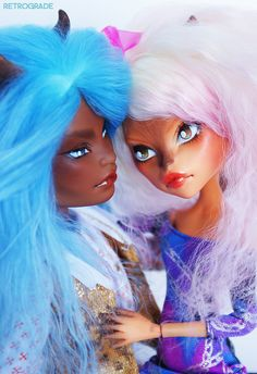 Candy and Vincent, Custom Monster High dolls  ~Personal Collection
