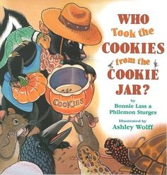 Who Stole The Cookie From The Cookie Jar Book Endearing Who Stole The Cookies From The Cookie Jar Author Unknown  Math Review