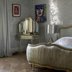 Glamorous Silber Schlafzimmer Wohnideen Living Ideas