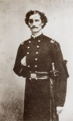 Maj. John H. Donovan (1840-1882). After being dissabled he transferred from the 69th New York Infantry to the 1st and later to the 19th Regiment, Veteran Reserve Corps. WIth this unit he served at Elmira Prison. He was brevetted Colonel and stayed in the regular army as part of the 44th and later the 17th Infantry.
