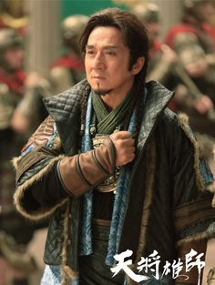 Dragon Blade - new Jackie Chan movie starring Jackie Chan, John Cusack, and Adrien Brody