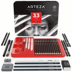 Spend your time creatively with dual-tip artist markers from ARTEZA. Find sets for portraits, grayscale, sketching, drawing, & water brush painting. Choose from low-odor alcohol-based markers or premium water-based twin tip pens. Kneaded Eraser, Everyone Makes Mistakes, Fineliner Pens, Charcoal Sketch, Neutral, Watercolor Pencils, Watercolor Paintings, Marker Art, How To Make Light