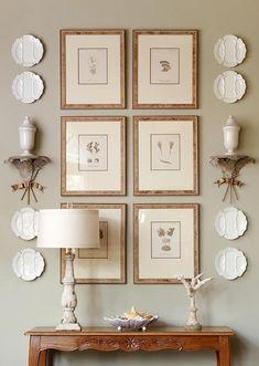 Interior: Wall Groupings