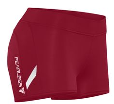 Fearless Crimson CrossFit-style Booty Shorts from Fearless Fitness App Crossfit Shorts, Sport Shorts, Cheer Skirts, Booty, Fitness, Life, Women, Style, Fashion
