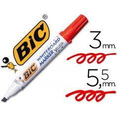 Marcador pizarra blanca Velleda Rojo (Trazo 3-5,9 mm)Marcador de tinta con base alcohol. Capuchón de cierre hermético. Punta gruesa biselada. Color Rojo. Ancho trazo 3-5,9 mm.