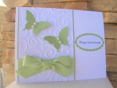Anniversary Butterfly CASE by calmag - Cards and Paper Crafts at Splitcoaststampers
