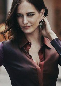 Eva Green, Autumn Winter Fashion, Eva Green Dark Shadows