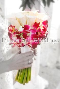 Wedding Bouquet - Calla Lily and Orchid
