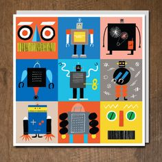 'Beep Beep Beep' by Rob Hodgson.  Published by Urban Graphic as part of the Little Boxes range.
