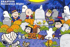 Charlie Brown Halloween, Peanuts Halloween, Retro Halloween, Charlie Brown Christmas, Charlie Brown And Snoopy, Halloween Night, Happy Halloween, Peanuts Cartoon, Peanuts Gang
