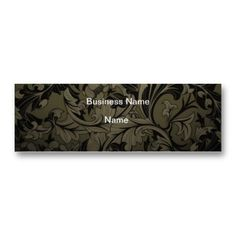 Get customizable business cards or make your own from scratch! ✅ Premium cards printed on a variety of high quality paper types. Cheap Business Cards, Business Names, Vintage Grunge, Floral, Prints, Company Names, Flowers, Flower