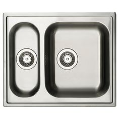 BOHOLMEN sink, double so that something can soak and still have the opportunity to wash hands and such.