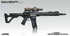 LANTAC RAVEN Rifle