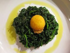 tè e cioccolato: L'uovo di Cracco