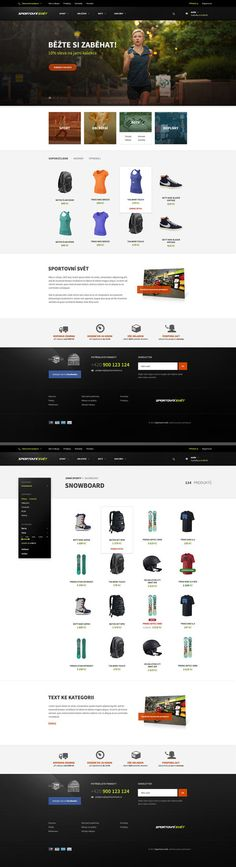 ef7cd16602 Designed for MEOS Agency s. More pages   link  Sport eCommerce website ·  Graphic Design LayoutsWeb Ui ...