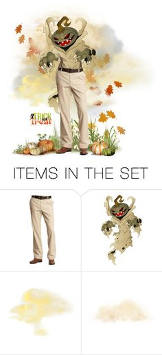 """""""Pumpkin Head"""" by carolshistoricalgroup ❤ liked on Polyvore featuring art"""