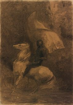 Odilon Redon | Cavalier | The Morgan Library & Museum