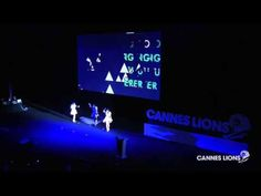 One of the greatest entrances ever made. Perfume - 「Spending All My Time」 @ Cannes Lions International Festival of Creativity 2013