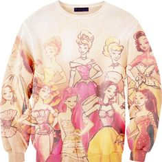 Disney princess sweater.... <3