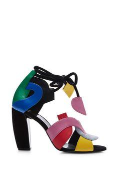 Atelier Heel In Multicolor by Pierre Hardy for Preorder on Moda Operandi
