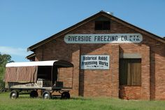 Because *your* town has a historical rabbit processing works, too, right? #texas #countryqueensland #travel #historical #coolmuseums #rabbitplague