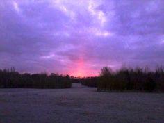 Sunrise on Easter Sunday 2013