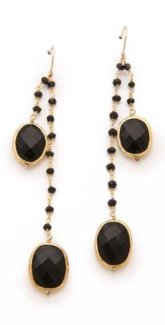 Heather Hawkins Black Onyx Earrings