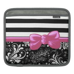 >>>best recommended          Floral Damask Stripe Ribbon Bow White Black Pink iPad Sleeves           Floral Damask Stripe Ribbon Bow White Black Pink iPad Sleeves We provide you all shopping site and all informations in our go to store link. You will see low prices onReview          Floral ...Cleck Hot Deals >>> http://www.zazzle.com/floral_damask_stripe_ribbon_bow_white_black_pink_ipad_sleeve-205485756209699249?rf=238627982471231924&zbar=1&tc=terrest