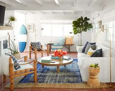 A modest Newport Beach cottage is restored in the spirit of its original—but not without a few scene-stealing, surprises. Cottage Style Decor, Beach Cottage Style, Beach Cottage Decor, Cottage Decorating, Decorating Ideas, Cottage Ideas, Cottage Chic, Beach Chic Decor, Coastal Style