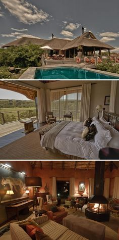 Pumba Water Lodge offers you luxury safari accommodation in Pumba Private Game Reserve in South Africa. Book now with Africa Sky. Game Lodge, River Lodge, Private Games, Game Reserve, My Land, Camps, Lodges, South Africa, Safari
